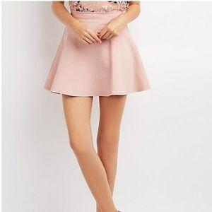 Pink Mauve Skater Skirt